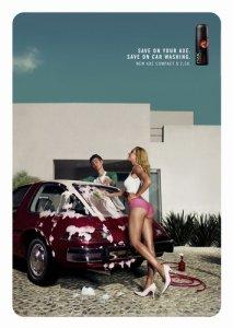 An ad for Axe Deodorant