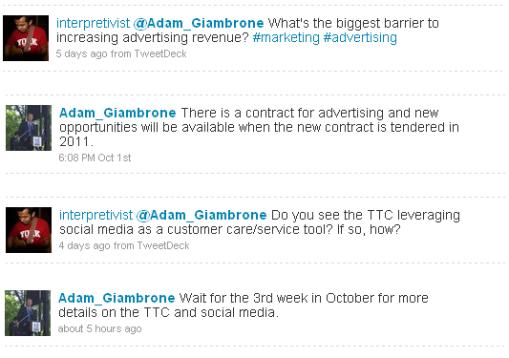 Adam Giambrone Twitter interview 3